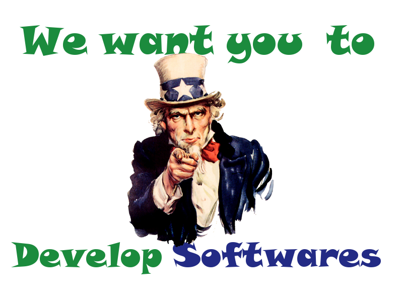 We Want You To Develop Softwares